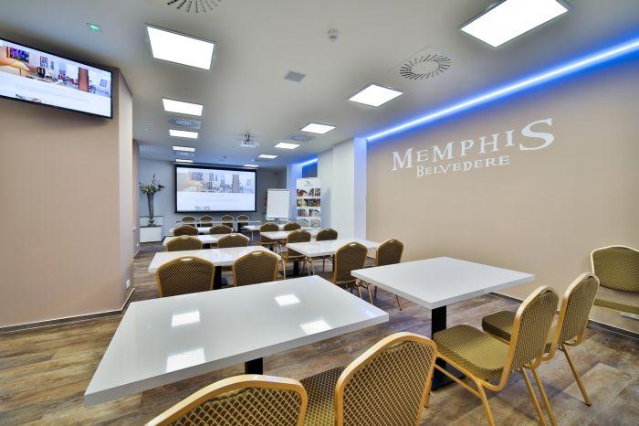 Hotel Belvedere poskytuje moderní zázemí pro pořádání konferencí