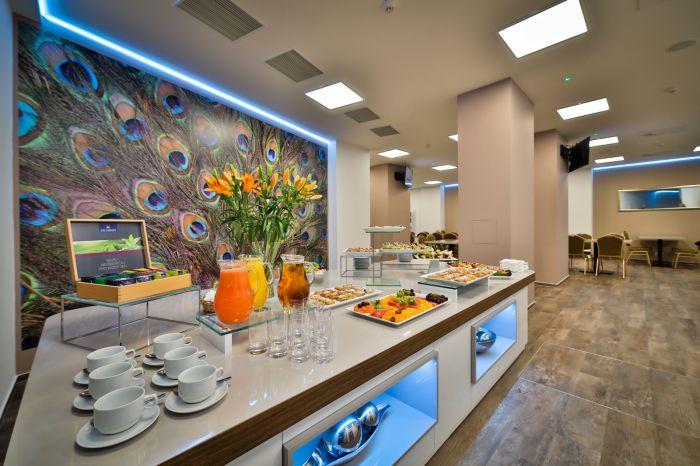 V hotelu Belvedere se můžete spolehnout na špičkový catering